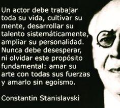 #Stanislavski #act