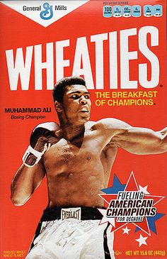 Collectible Limited Edition Boxing Legend Muhammad Ali Sealed Wheaties Cereal