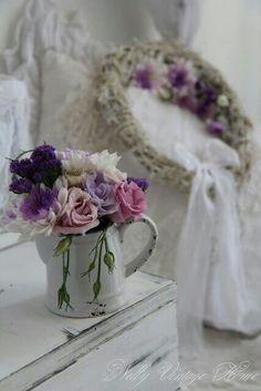 Flores en la habitación...   G.
