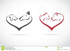 Horse Dog Cat Heart Logo Stock Photos, Images, & Pictures – (16 ...