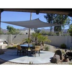 12' x 12' Square Sand Beige Breathable Mesh Shade Sail