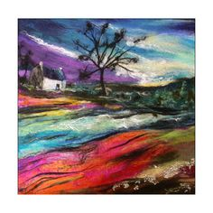 Stunning Textile Landscapes by Scottish Artist Moy Mackay