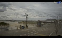 Cloudy and winds day #AtTheShore in #OceanCityNJ.