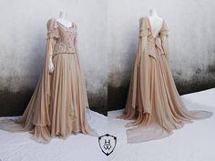 Elvish Silk Dress