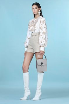 Andrew Gn Spring 2021 Ready-to-Wear Collection - Vogue Look Fashion, Daily Fashion, Spring Fashion, High Fashion, Winter Fashion, Fashion Show, Fashion Outfits, Womens Fashion, Fashion Design