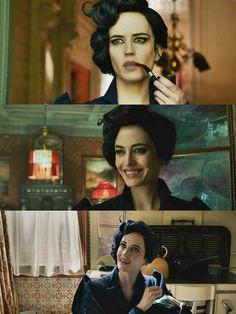 Miss Peregrine!!!