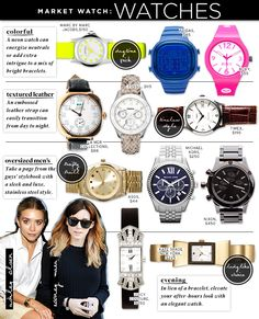 ; Market Watch: Watches - Celebrity Style and Fashion from WhoWhatWear
