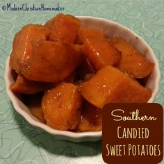 Decadent Southern Candied Sweet Potatoes - These are so easy and phenomenally delicious! Decadent Southern Candied Sweet Potatoes - These are so easy and phenomenally delicious! Thanksgiving Recipes, Holiday Recipes, Dinner Recipes, Thanksgiving Lunch, Potato Dishes, Food Dishes, Vegetable Side Dishes, Vegetable Recipes, Southern Recipes