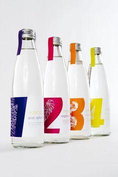 Cool energy drink bottle #branding #packaging PD