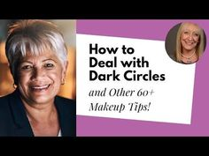 When I ask you about what makeup for older women topics you would like me to ask Ariane Poole about, bags under the eyes and dark circles are two of your mos. Smoky Eye Makeup Tutorial, Eye Makeup Tips, Dark Circles Makeup, Makeup For Older Women, Beauty Make Up, Beauty Tips, Happy Skin, New Skin