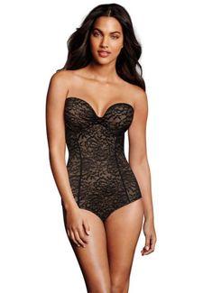 a408e7cd91b83 Maidenform Sexy Strapless Convertible Bodybriefer DM2008 Strapless  Bodysuit