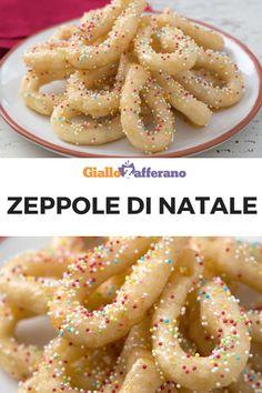 Italian Pastries, Italian Desserts, Italian Recipes, Italian Cake, Italian Wedding Cookies, Italian Cookies, Christmas Desserts, Christmas Baking, Zeppoli Recipe
