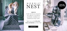 New collection from Nordic Nest - now 25% off!
