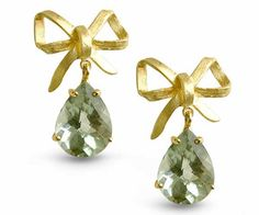Reabbon 18kt Yellow Gold Earings with by OrlyRavitzJewelry on Etsy, $1590.00