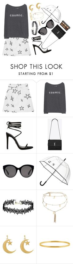 """""""// the love of money is the root of  all evil //"""" by velvetgirl10 on Polyvore featuring Être Cécile, Juvia, Yves Saint Laurent, Gucci, Kate Spade and Ettika"""