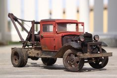 Railroad Line Forums - Ford (GAZ) AA tow truck