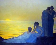 Alphonse Osbert(French Symbolist Painter 1857ー1939)