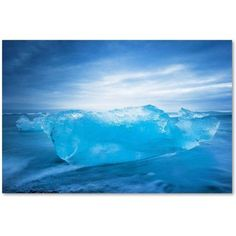 Trademark Fine Art 'Blue Transparency' Canvas Art by Philippe Sainte-Laudy, Size: 12 x 19, Multicolor