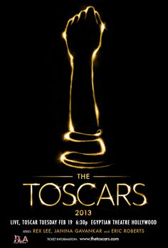 """It's coming! The Toscars hosted by Brits in LA on February 19th, 2013.    I'm excited to share w/ U I'll be walking the red carpet w/ the rest of the cast members of """"Skyfell (And I Can't Get Up) that night.    Here's a link to the event & tix are selling out FAST on Eventbrite: https://www.facebook.com/events/531950626835855/?notif_t=plan_user_joined    The event is received around the world w/ many thanks to London Flair PR!    If Ur able to attend, I would love to share the experience w…"""