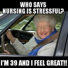 Happy nurses week to all of my amazing coworkers and friends!! Admire you all!  Who says nursing is stressful