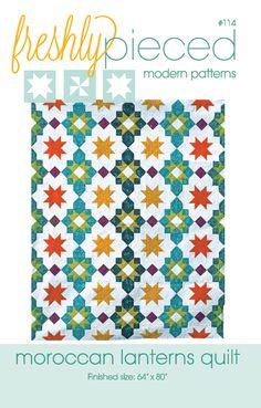 Image of Moroccan Lanterns PDF pattern