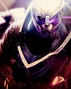 Garrus Vakarian, Mass Effect