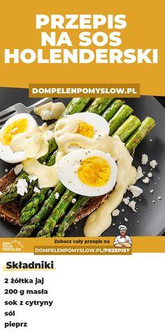 Polish Recipes, Avocado Egg, Quesadilla, Eating Well, Food And Drink, Low Carb, Tasty, Treats, Cooking