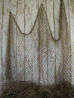 fishnet for centerpieces