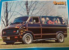 """Three Balls"" 75 Dodge van"