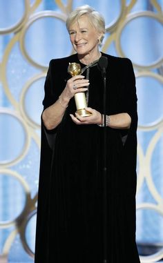 Glenn Close in Armani Privé at the Golden Globes 2019 Golden Globe Award, Golden Globes, Glenn Close, Perfect Movie, Green Books, Armani Prive, Fashion Night, Best Actor, Powerful Women