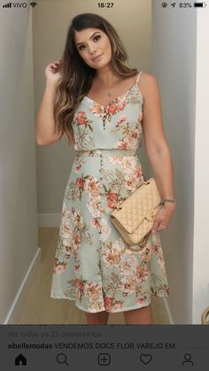 Winter Collection, Floral Prints, Tank Tops, Sweet, Gown