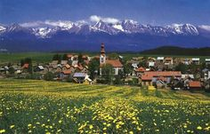 There is a little country in Central Europe called Slovakia. It measures… Oh The Places You'll Go, Places To Travel, Central Europe, Czech Republic, Hungary, Google Images, Explore, Mountains, History