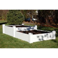 Raised-Bed Planter Bed