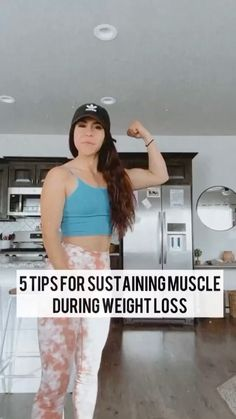 idealfit on Instagram: Check out these 5️⃣ tips for sustaining muscle during weight loss from @getfitwithmeliss!🙌 • She uses our protein to help fuel her… Fit Motivation, Sustainability, Protein, Muscle, Weight Loss, Moon, Kid, Exercise, Fitness