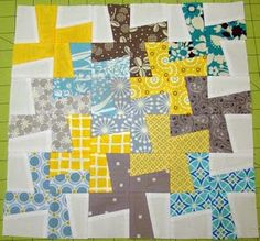 great pattern for fat quarter stacks