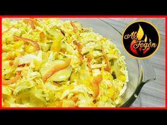 Ensalada mango agridulce - ensalada agridulce - como hacer ensalada agridulce - YouTube Cabbage, Mango, Vegetables, Ethnic Recipes, Youtube, Food, Salads, Recipes, Cookers