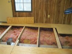 questions about mobile home subfloors - what a mobile home looks like under the subfloor