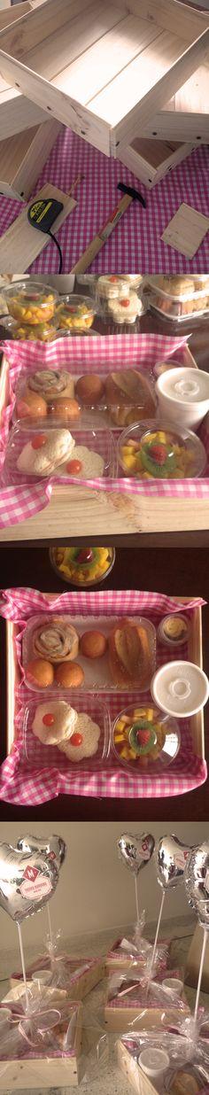 Desayunos sorpresa de www.macarena.co #desayunos #cali #colombia #sanduches #ensaladas #frutas