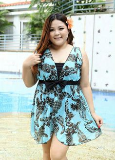 046d1cf4ee187 TRIKINI Skirt Cover Up Beach Bathing Suit Floral pattern   Gradient color  style   Nylon