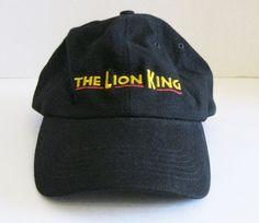 The Lion King Broadway Musical VIP Hat Adjustable Black