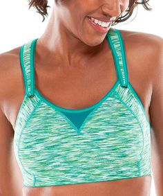 Heavy on support but easy on the eyes, this innovative sports bra provides active women with everything they need to succeed. The seamless, subtly contoured cups encapsulate and compress each breast individually, protecting the bust area and ensuring modesty, while DriLayer® Power fabric offers fantastic shape retention. With adjustable front straps and back-closure padding, it creates a fit that's superior in every way. Size note: This item runs small. Moving Comfort recommends ordering up…