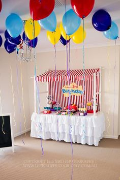 'The Wiggles' themed birthday party via Kara's Party Ideas.