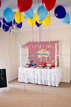 'The Wiggles' themed birthday party via Kara's Party Ideas.