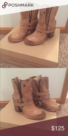Freebird by Steven Bama Boot Size 6 NEW! Brand new, in box. Size 6. Taupe Steven by Steve Madden Shoes Heeled Boots