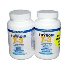 Absolute Nutrition Thyroid T-3 Description: Original Formula Designed to Boost Thyroid Output and Metabolism Your Thyroid Controls the Rate of Metabolism Reduced Calorie Diets Have Been Shown to Lower