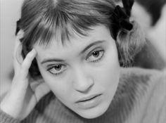 Anna Karina in Bande à part (1964).