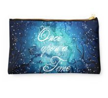 Once Upon A Time ~ Winter Snow Forest Studio Pouch