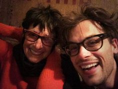 my mom and dad taught me everything i know including how to have terrible vision via Mathew Gray Gubler Twitter (Mother's Day 2014)