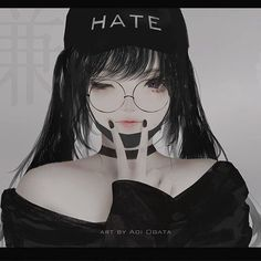 ArtStation - Aoi Ogata Anime Angel Girl, Dark Anime Girl, Manga Anime Girl, Pretty Anime Girl, Anime Girl Drawings, Anime Couples Manga, Anime Neko, Cute Anime Couples, Kawaii Anime Girl