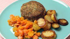 Zwitserse schijf met jonge wortelen en gebakken patatjes | VTM Koken